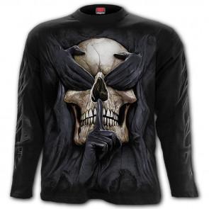 See no evil - T-shirt crâne - Homme - Manches longues
