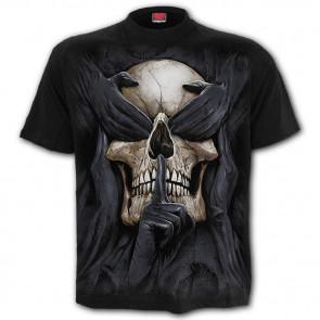 See no evil - T-shirt gothique crane squelette - Homme