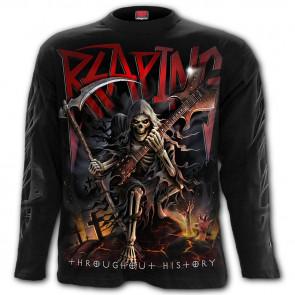 Reaping tour - T-shirt reaper rock metal - Manches longues