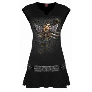 vetement motif steampunk boutique vente tunique gothic