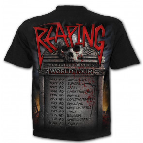 Reaping tour - T-shirt reaper rock heavy metal - Homme
