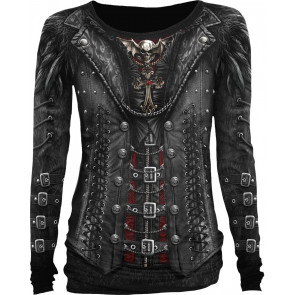 Gothess wrap - T-shirt femme steampunk - Spiral