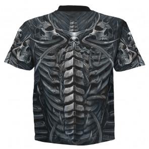 Skull armor - T-shirt homme - Dark fantasy gothic