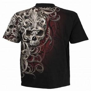 Skull shoulder - T-shirt homme - Dark fantasy gothic
