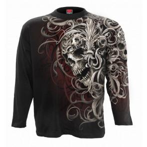 Skull shoulder - T-shirt homme - Dark fantasy - Manches longues
