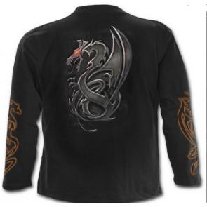 Dragon slayer - T-shirt homme dragon - Manches longues