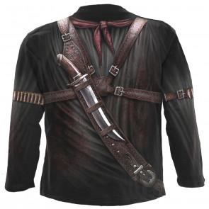 Holster wrap - Tee-shirt homme fantasy - Spiral