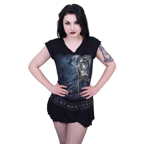 82d485cccb8 boutique vente vetement gothique pour femme dark fantasy raven queen spiral