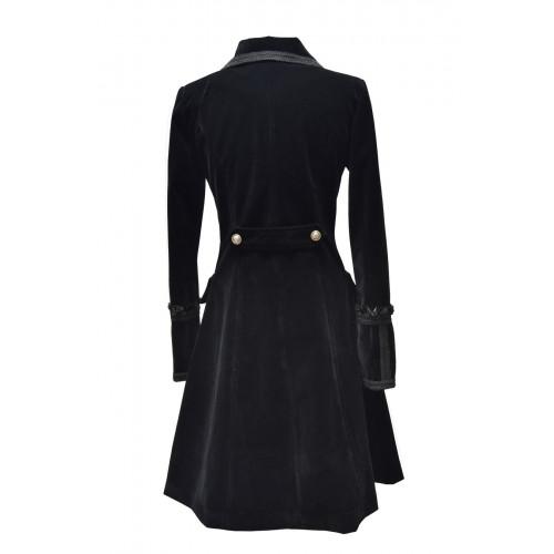 Manteau velours victorien gothic , Femme
