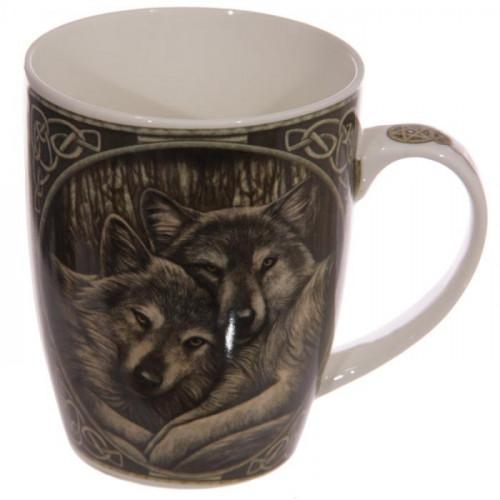 Lisa Noire Loups Tasse Mug Parker JclK1FT