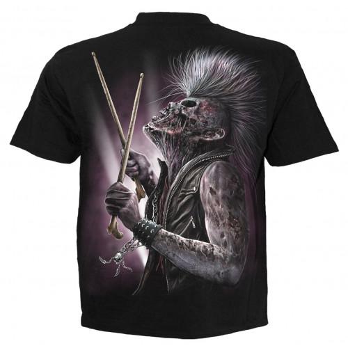 Zombie backbeat - T-shirt homme - Spiral