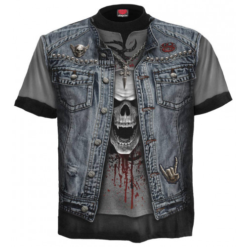 t-shirt homme rock