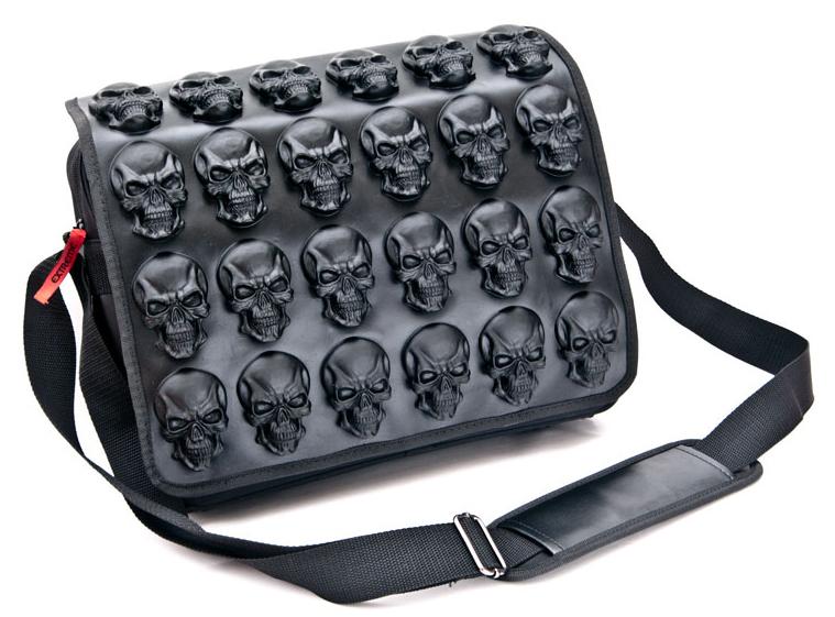 skulls sac gothique cr nes cult appeal t te de mort. Black Bedroom Furniture Sets. Home Design Ideas