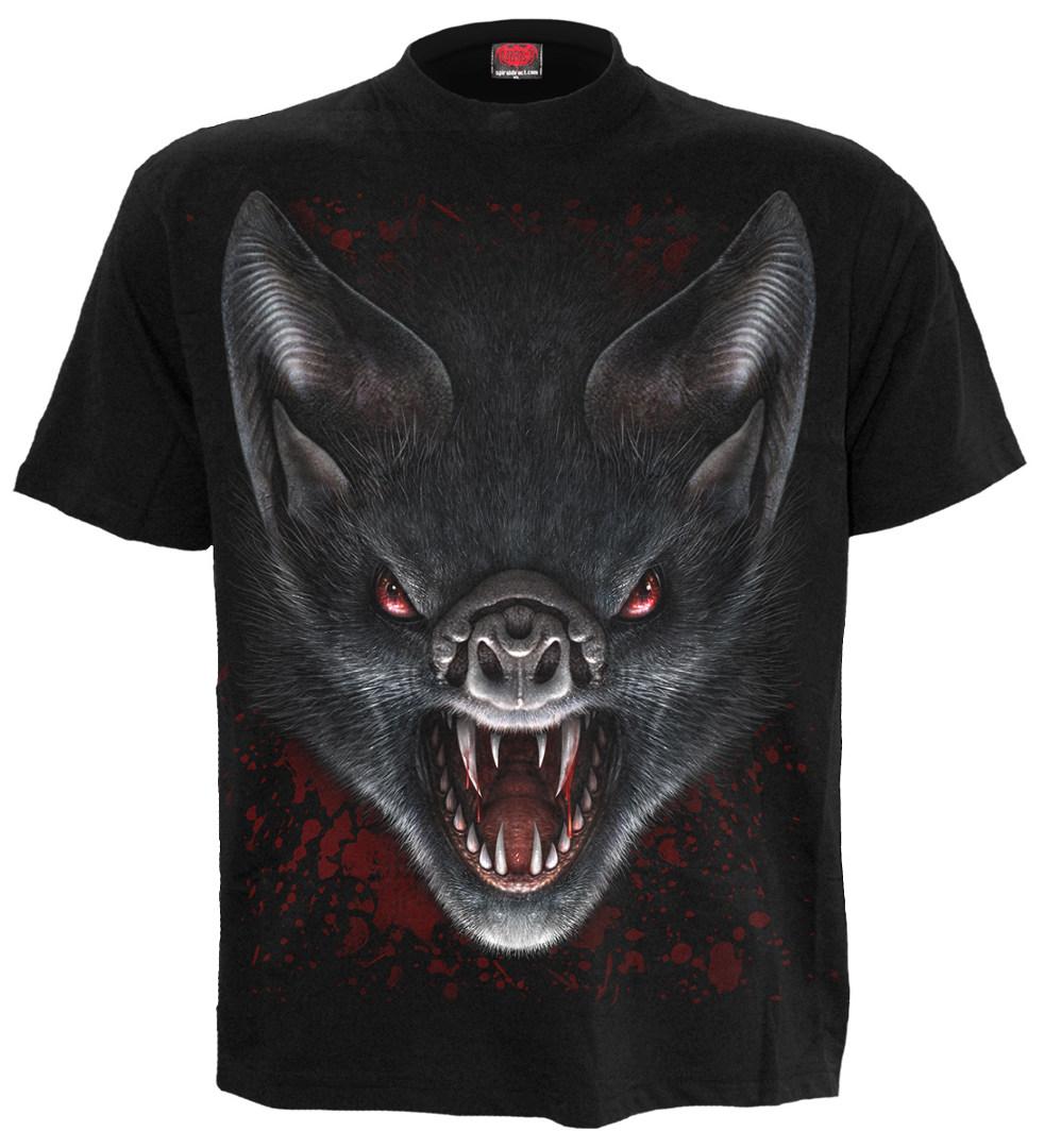 Vampire bat t shirt homme chauve souris spiral boutique - Chauve souri vampire ...