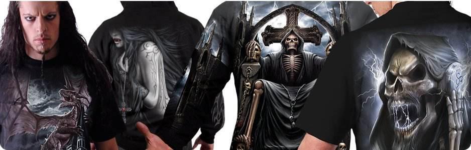Vêtements homme gothique dark fantasy