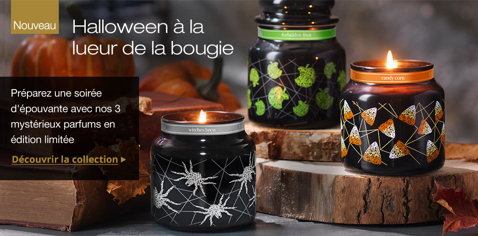 Boutique bougies parfumées yankee candle france collection halloween automne 2016